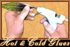 Dried Hot Glue easily peels off Finger Gloves� 